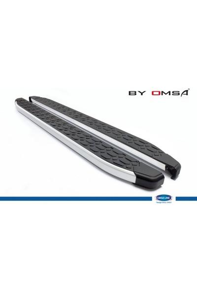 Omsaline Dodge Nitro Yan Koruma-Basamak Blackline Aluminyum 2007-2012 Yılları Arası