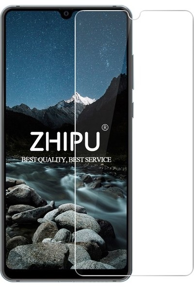 Microcase Huawei Mate 20 Tempered Glass Cam Ekran Koruma