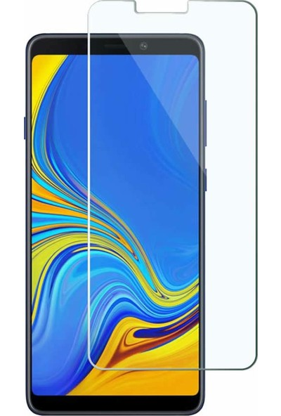 Microcase Samsung Galaxy A9 2018 Tempered Glass Cam Ekran Koruma