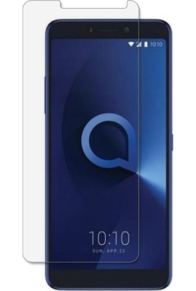 Microcase Alcatel 3 Tempered Glass Cam Ekran Koruma