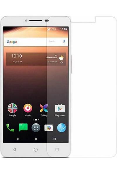 Microcase Alcatel A3 XL Tempered Glass Cam Ekran Koruma