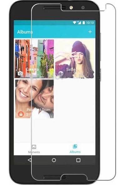 Microcase Alcatel A3 Tempered Glass Cam Ekran Koruma