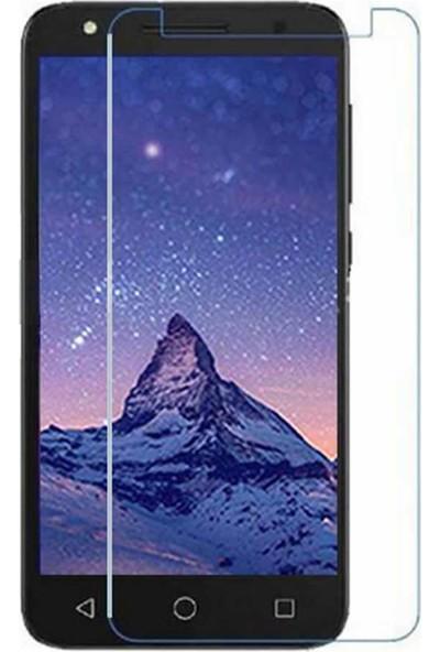 Microcase Alcatel U5 HD Tempered Glass Cam Ekran Koruma