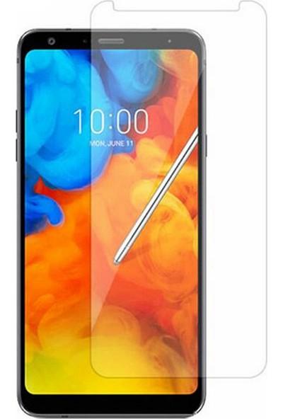 Microcase LG Q Stylus Plus Tempered Glass Cam Ekran Koruma