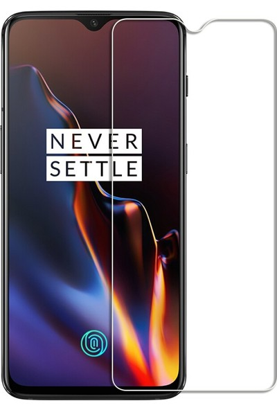 Microcase OnePlus 6T Tempered Glass Cam Ekran Koruma