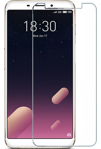 Microcase Meizu M6S Nano Glass Ekran Koruma Filmi