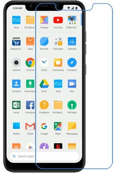 Microcase Xiaomi Pocophone F1 Nano Glass Ekran Koruma Filmi