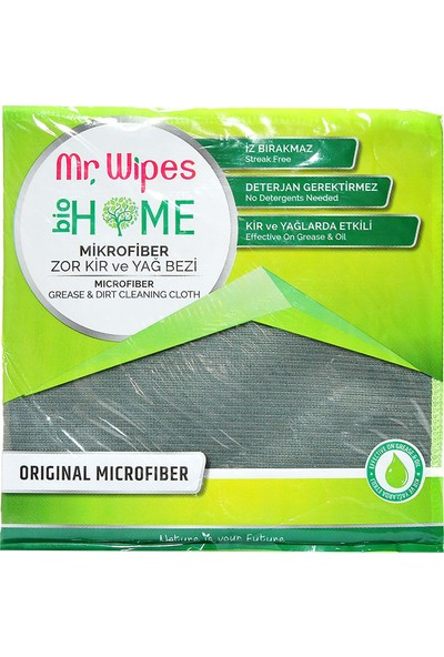 Farmasi Mr. Wipes Antibakteriyel Microfiber Zor Kir ve Yağ Bezi