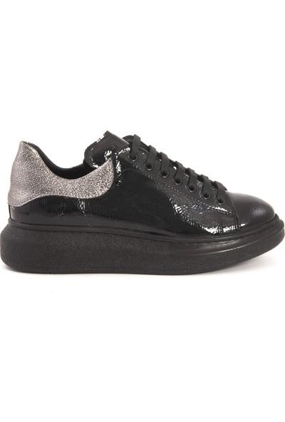 Kemal Tanca Siyah Rugan 66914-01 Sneaker