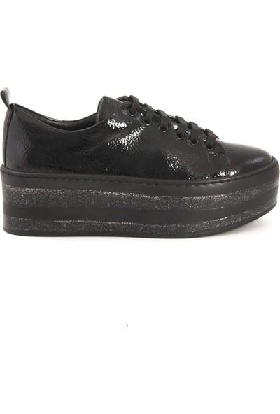 Kemal Tanca Siyah Rugan 86212-18 Sneaker