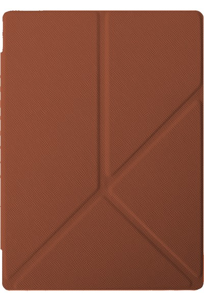 Kobo Aura One 7.8 '' E-Kitap Okuyucu Origami Kılıf Kahverengi