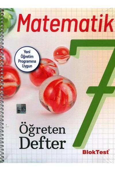 Bloktest Yayınları 7 Matematik Öğreten Defter