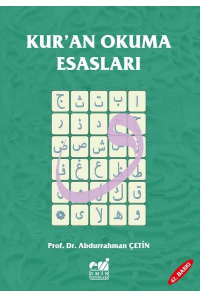 Kuran Okuma Esasları Tecvid / Abdurrahman Çetin - İlahiyatçı
