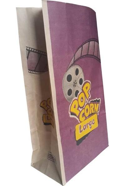 Kesepak Popcorn Kese Kağıdı Büyük Boy 500' lü Pakette