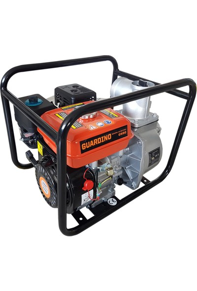 Guardino GW80 3'' 6,5 Hp Benzinli Su Motoru