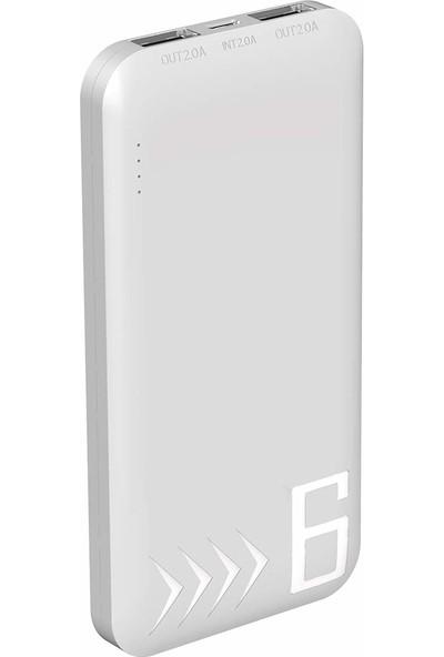 Smartech 6000 mAh Powerbank Taşınabilir Şarj Cihazı ST-60J