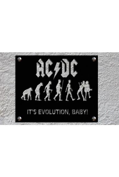 Metalitive Acdc V1 Metal Tablo