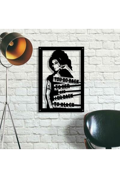 Metalitive Amy Winehouse Metal Tablo