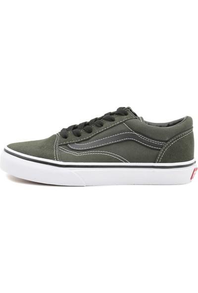 Vans Vn0A38Hbu3X1 Uy Old Skool Çocuk Günlük Ayakkabı Yeşil
