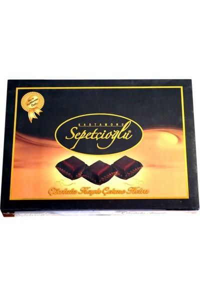 Sepetçioğlu Çekme Helva 420 gr Çikolata Kaplı Sade