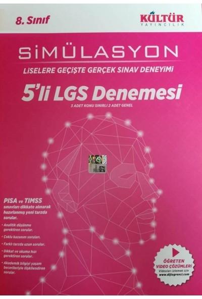 Kültür Simülasyon 5 Li Lgs Denemesi