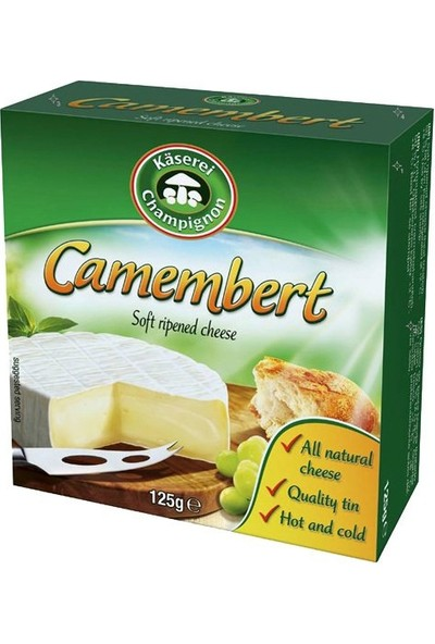 Kasarei Champignon Camambert Petit Peynir, 125 gr