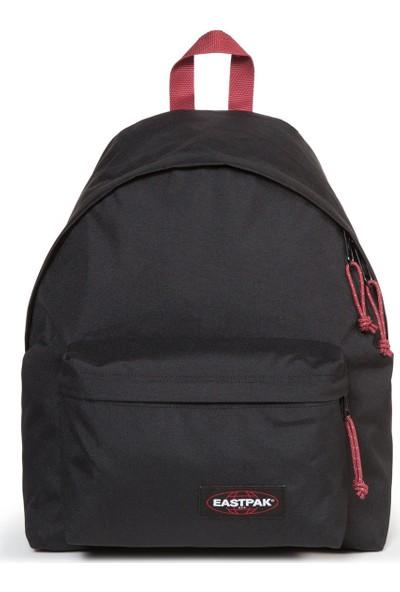 Eastpak Padded Pak'R Black-Red Sırt Çantası Ek62057T