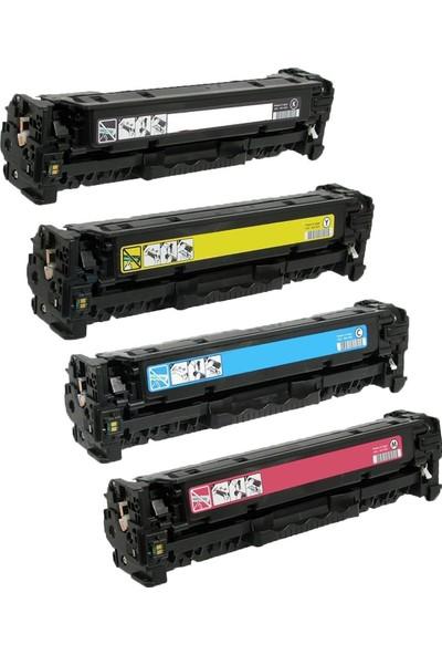 GörkemBüro® Canon MF633CDW/MF635CX/LBP611CN CRG-045 Toner Takım