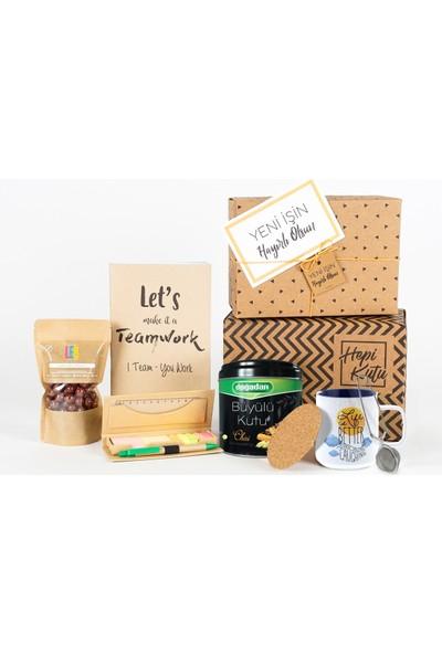 HepiKutu Yeni İş Hediye Kutusu Chai Çaylı Life