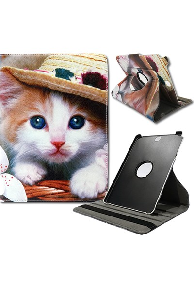 "Mopal Samsung Galaxy Tab T550 9,7"" 360 Derece Kılıf Stand MD76"