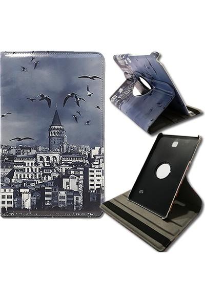 "Mopal Samsung Galaxy Tab T230 T232 Döner Stand 7"" Tablet Kılıfı MD95"