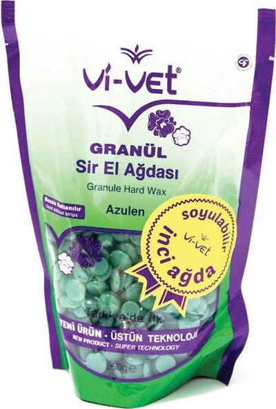 Vi-vet İnci Granül Sir El Ağdası Azulen 250gr