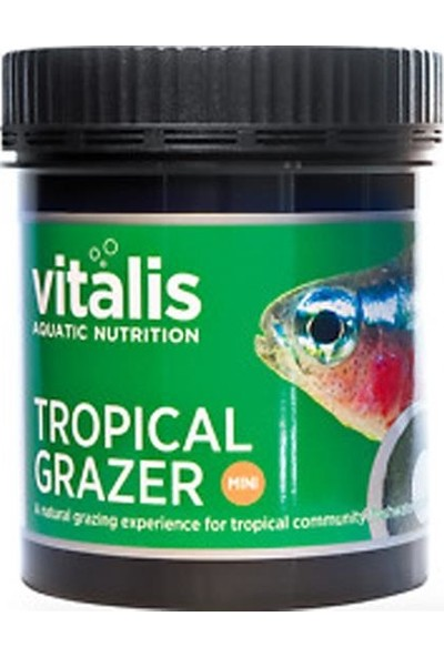 Vitalis Mini Tropical Grazer 110Gr
