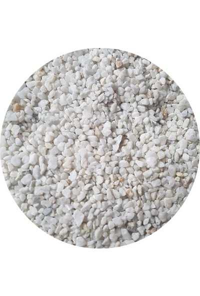 Aqudeco Aquarium Gravels Ice White 3-4Mm Dere Kumu 5Kg
