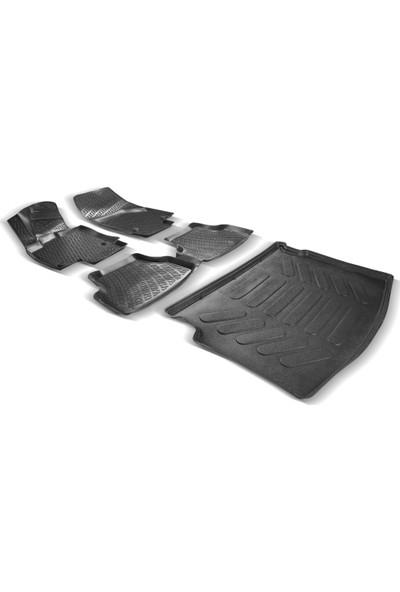 Rizline Seat Ateca 3D Paspas + Bagaj Havuzu