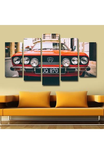 Src Dekor Araba Görseli 151 - 5 Parçalı MDF Tablo 100 x 60 cm