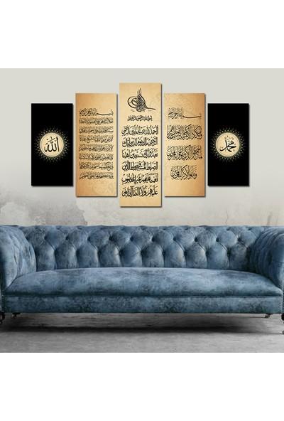 Src Dekor Dini Görsel 7 - 5 Parçalı MDF Tablo 100 x 60 cm