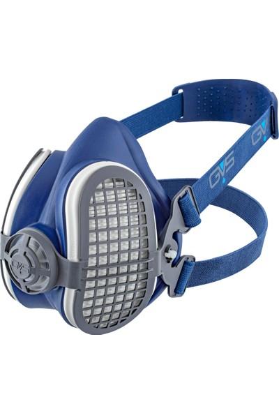 GVS Elipse P3 R D Yarım Yüz Gaz Maskesi+1 Çift Toz Filtresi