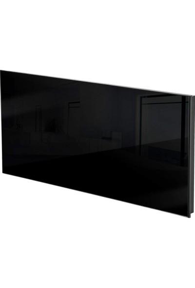 Kuas Isp Glass 900 Siyah Cam Elektrikli Panel Isıtıcı