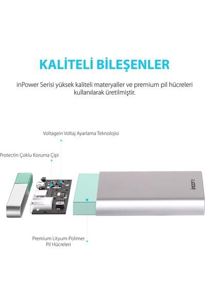 Incore inPower 20000 mah PD QC 3.0 Gümüş Taşınabilir Hızlı Şarj Cihazı Powerbank Power Delivery ve Quick Charge 3.0