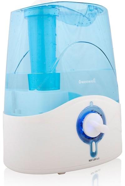 Weewell WHC712 İyonizer Özellikli Soğuk Buhar Makinesi (Gece Işığı) / 5 litre