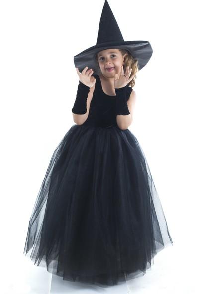 Tülü Akkoç Cadı Kostümü