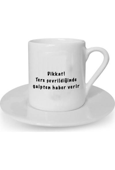 Mutlu Mutfak Atölye Kişiye Özel Tasarım Türk Kahvesi Fincanı Falcı