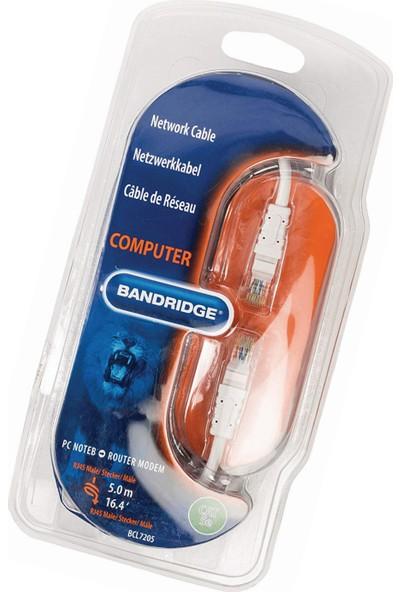Bandridge BCL7205 RJ45-RJ45 5m Cat5 Kablo
