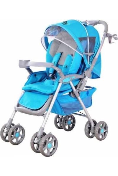 Babyhope Nene Puset Bebek Arabası Tam Yatarlı Kolay Katlanır