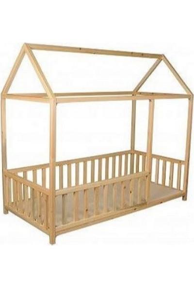 Montessori Vernikli Cilalı Yatak 90 x 190 x 4 cm