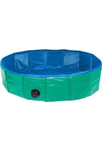 Karlie Köpek Havuzu 120Cm Çap Yeşil-Mavi