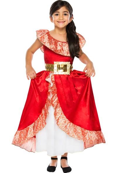 Disney Prenses Elena Kostüm 7 - 9 Yaş