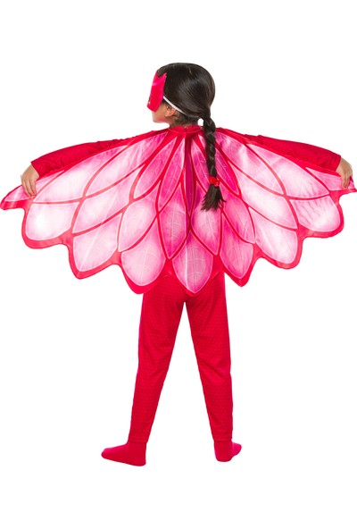 PJ Masks PijaMaskeliler Baykuş Kız Kostüm 4 - 6 Yaş