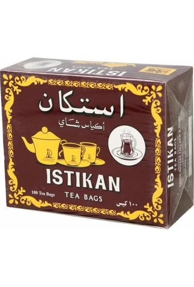 İstikan Tea Kokusuz Bardak 200 Adet 2 Paket Sallama Poşet Çay